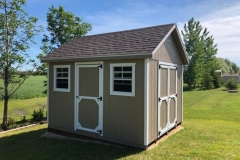 10x12 | Buckskin Siding | Teak Roof