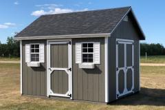 10x12 | Castlemore Siding | Onyx Black Roof