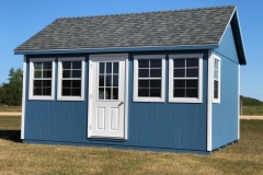 12x16 | Custom Siding | Estate Grey Roof
