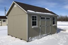 12x16 | Clay Siding | Teak Roof