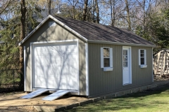 12x24 | Clay Siding | Teak Roof