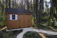 8x12 | Horizon Cedar Siding | Brownwood Shingles