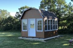 10x12 | Horizon Cedar Siding | Driftwood Shingles