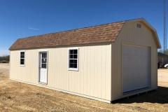 14x32-High-Barn-Navaho-White-Desert-Tan-roof