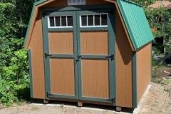 8x8 | Horizon Cedar Siding | Green Shingles