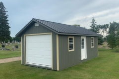 12x24 | Castlemore Siding | Black Metal