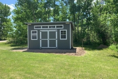 10x16 | Castlemore Siding | White Trim
