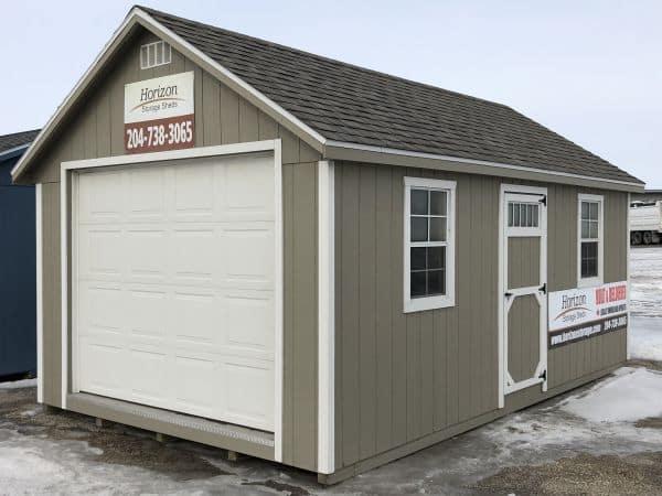 12x20 Cottage Style Shed Horizon Storage Sheds