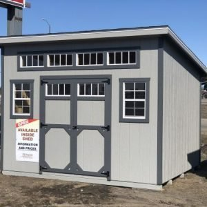 10x12 Urban Style Shed