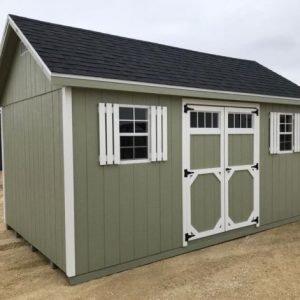 12x16 Cottage Style Shed Horizon Storage Sheds