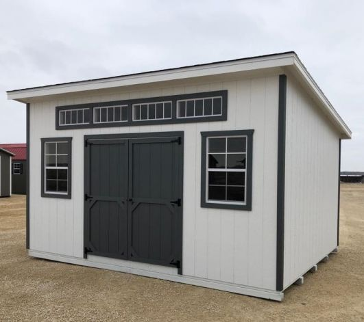12x16 Urban Style Shed