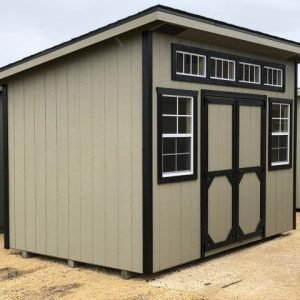 8x12 Urban Style Shed